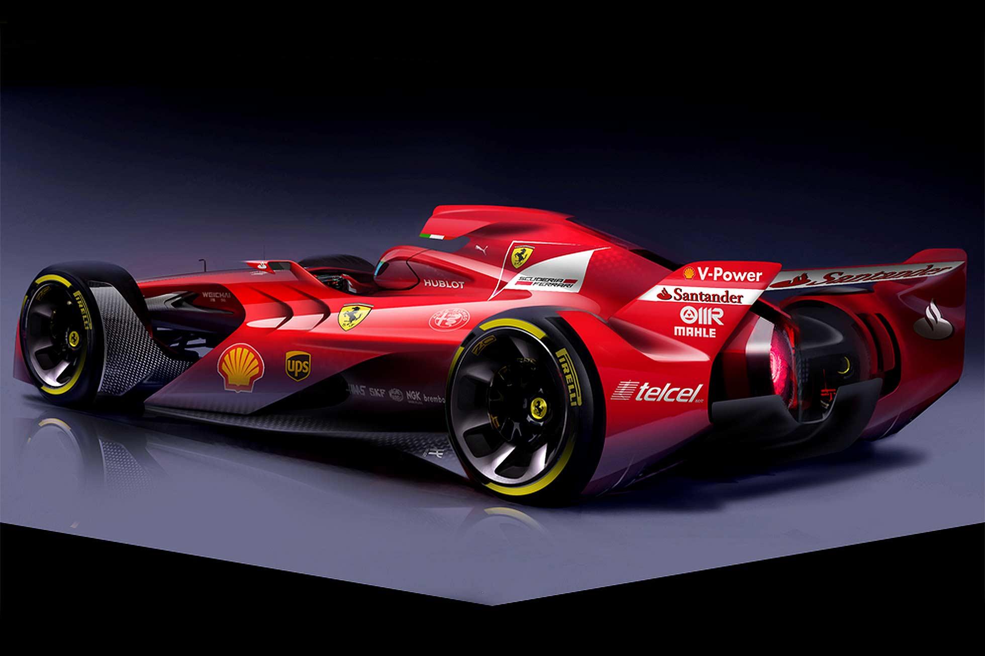 Ferrarijev koncept je dirkalnik, kot si ga želimo. Z ''glasom'' in stasom.