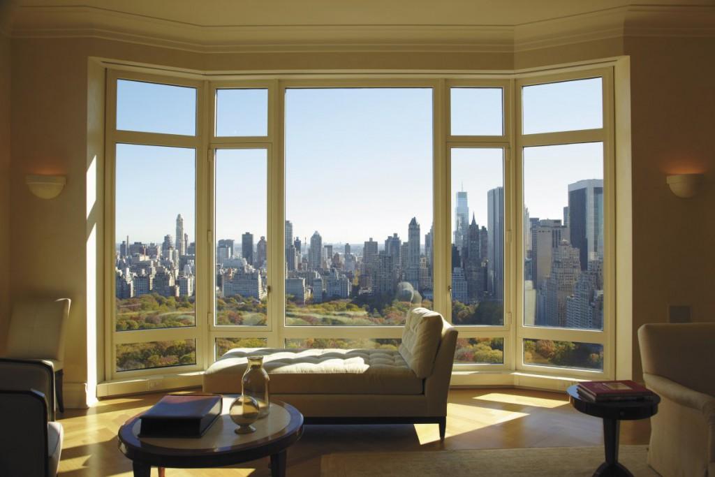 Penthouse, 15 Central Park West, New York – 45 milijonov ameriških dolarjev