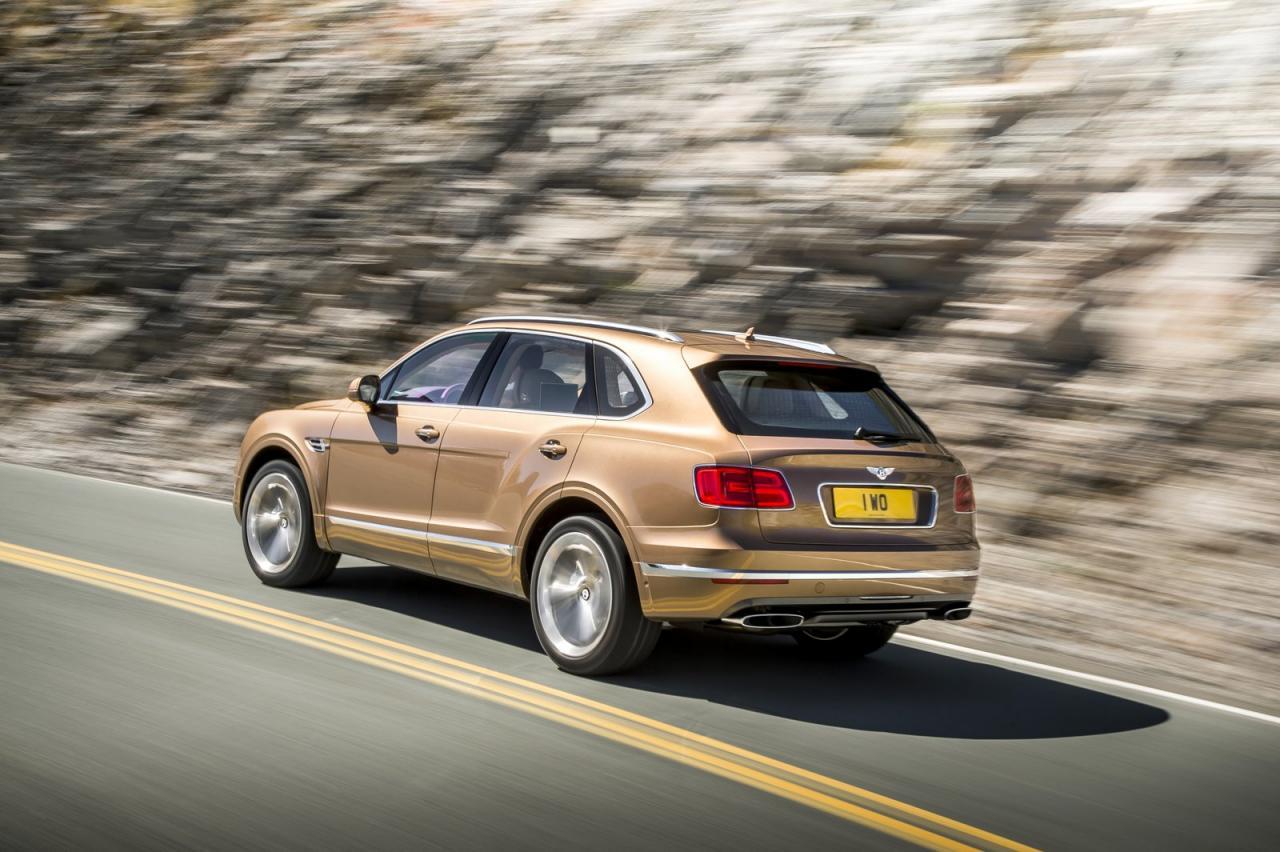 Bentley Bentayga je SUV, ki mu na svetu ni para.