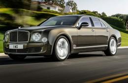 Bentley mulsanne speed je narejen za hitrost
