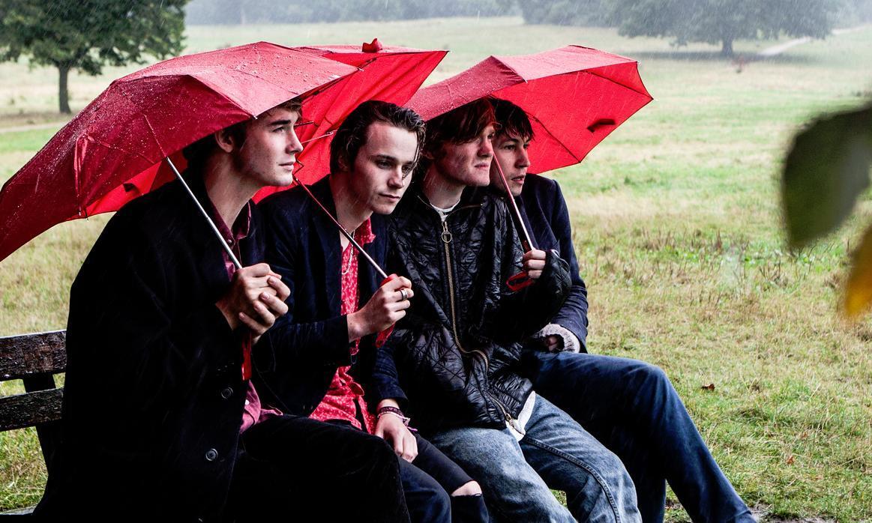 Rock skupina Palms Violet.