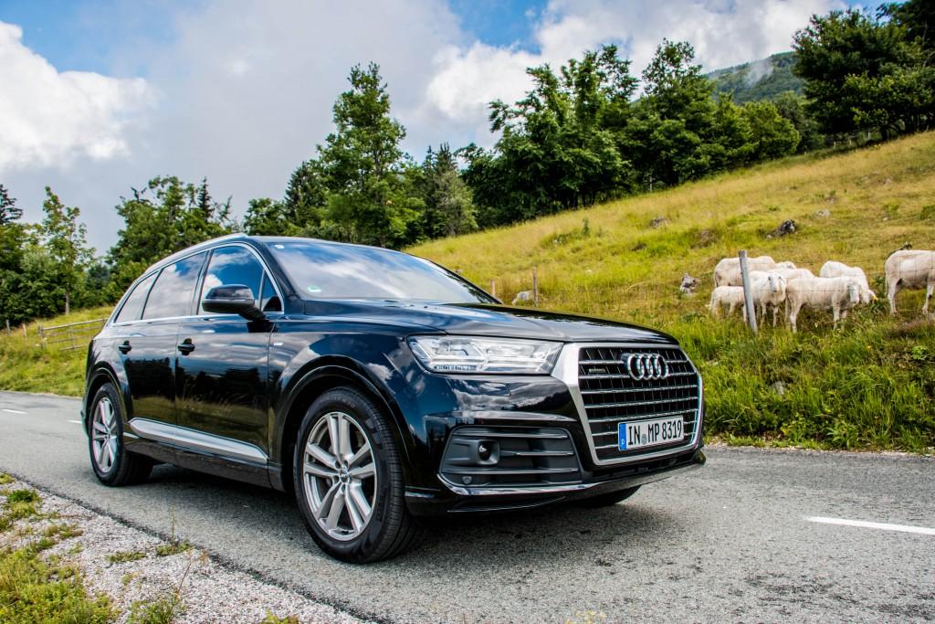 Novi Audi Q7 - 2015 (Slovenska predstavitev)