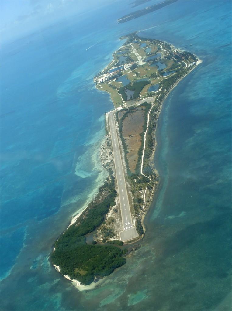 Otok Caye Chapel Island, Belize