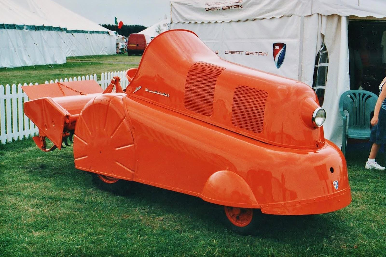 Porschejev posebni traktor Coffee Train P312.