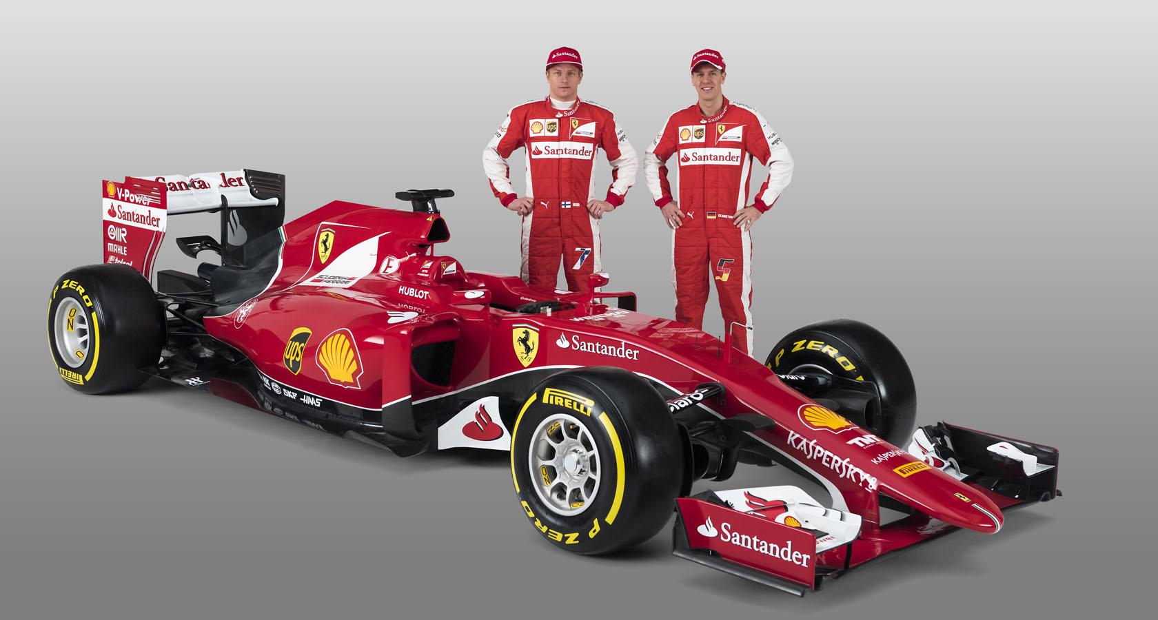 Ferrarijev dirkalnik za sezono 2015.