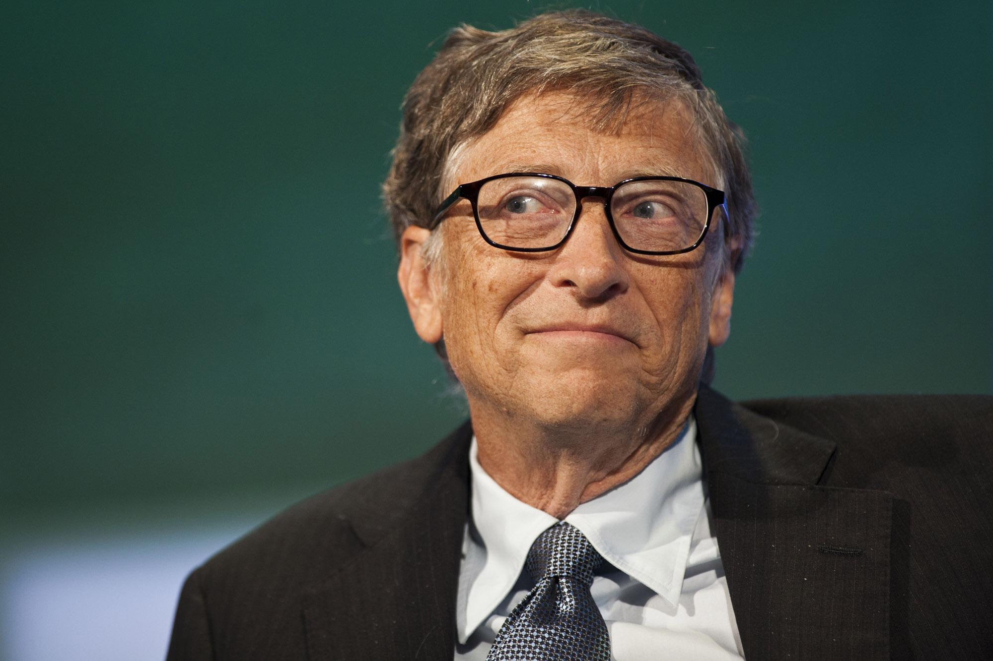 Bill Gates je resda nesramno bogat, a je tudi velik filantrop.