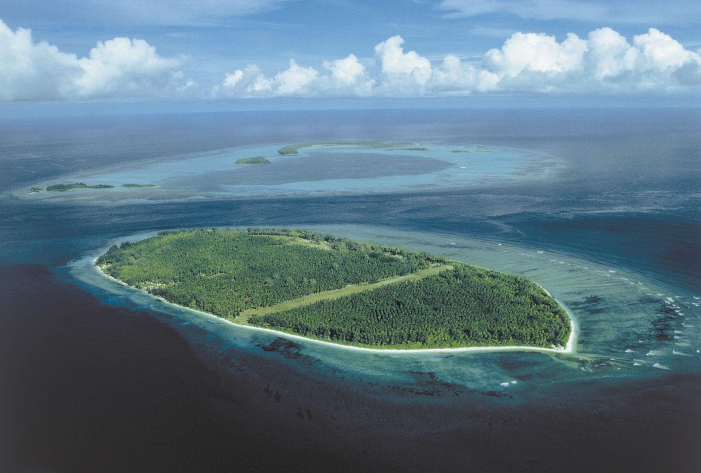 Otok D'Arros Island, Sejšeli