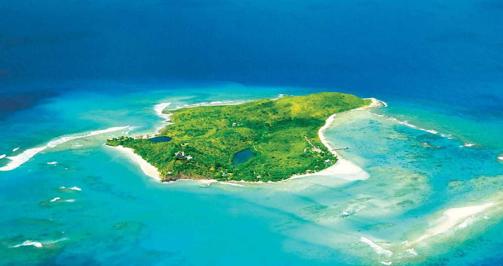 Otok Necker Island, Britanski Deviški otoki
