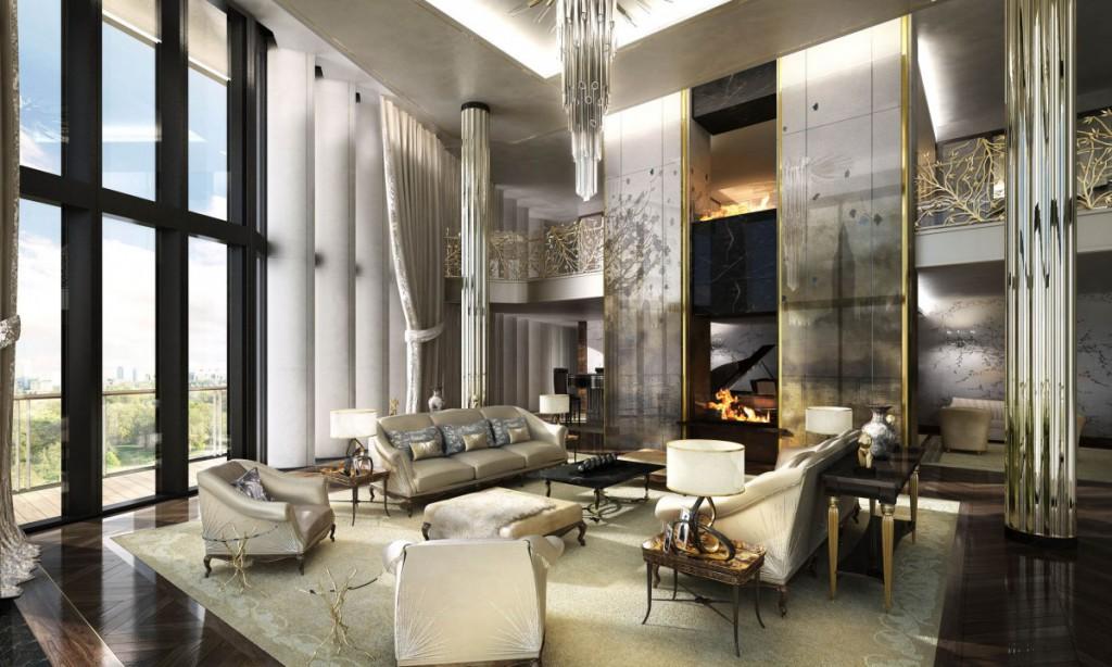 The Penthouse London, One Hyde Park London, Velika Britanija – 200 milijonov ameriških dolarjev