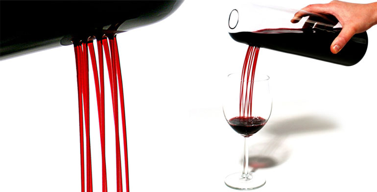 Vinska steklenica Rainman