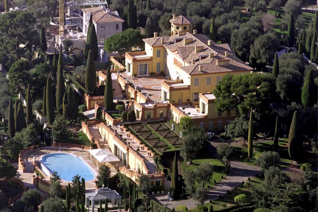 Villa Leopolda, Villefranche-sur-mer, Francija – 750 milijonov ameriških dolarjev