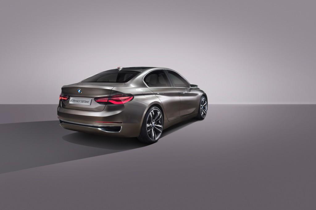 """BMW Compact Sedan - ker so limuzinske """"ritke"""" lahko tudi lepe."""