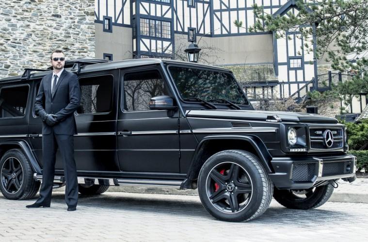 Mercedes-Benz G63 - luksuzno terensko oklepno vozilo vredno 1 milijon $