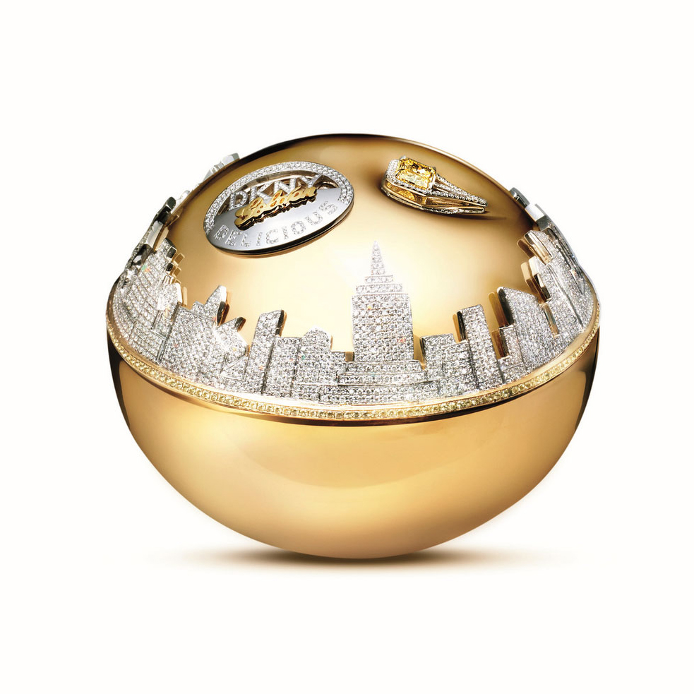 Parfum DKNY Golden Delicious Million Dollar Fragrance Bottle
