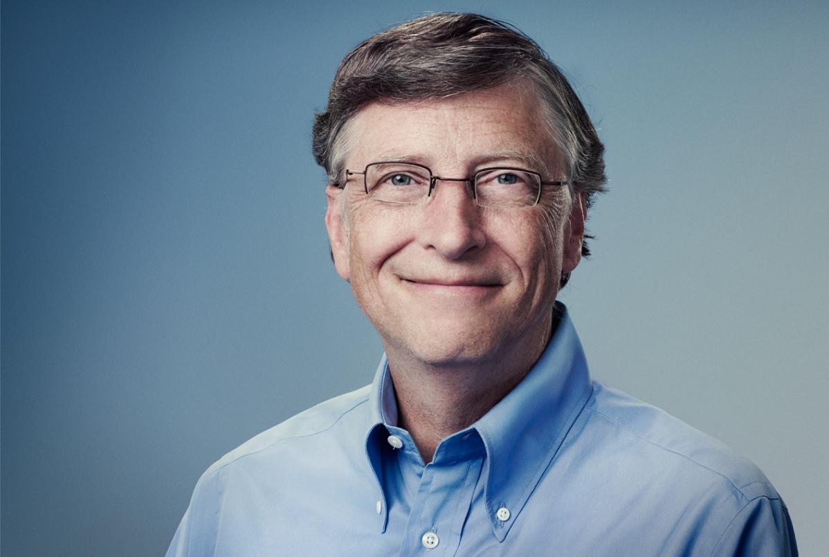 Eden izmed (vsaj) milijonarjev, ki pravilno razmišlja, je tudi Bill Gates.