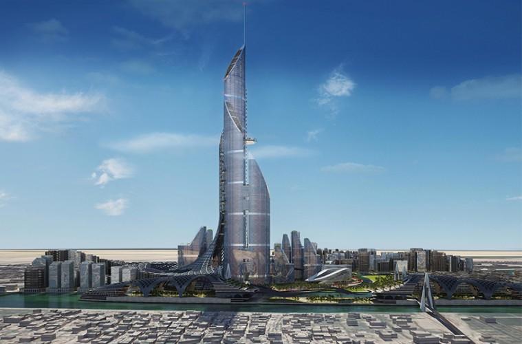 Najvišja stavba na svetu - The Bride v Iraku