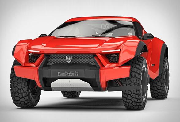 Zarooq Sand Racer si podredi puščavo kot cesto.