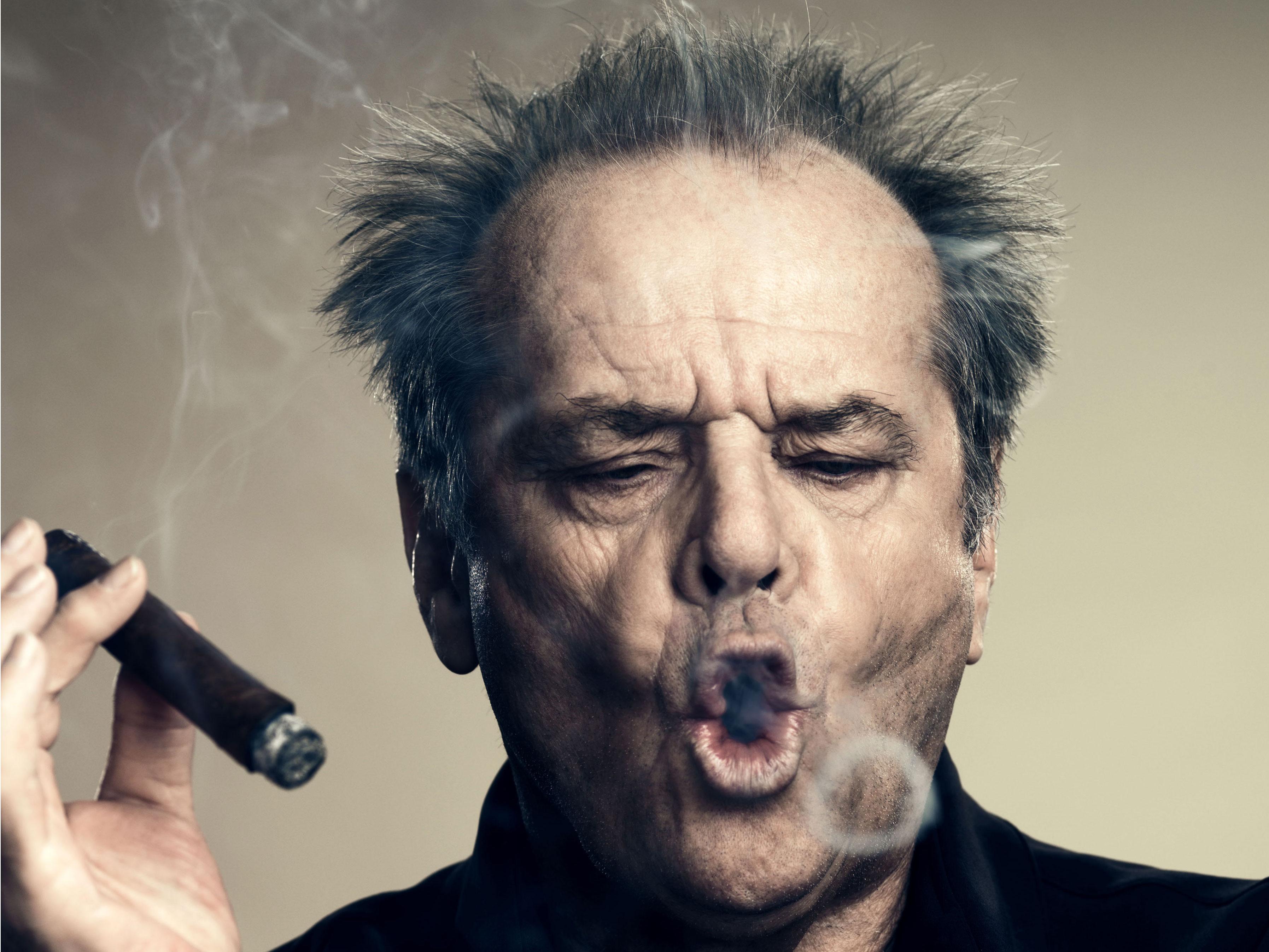 Karizmatični igralec Jack Nicholson.