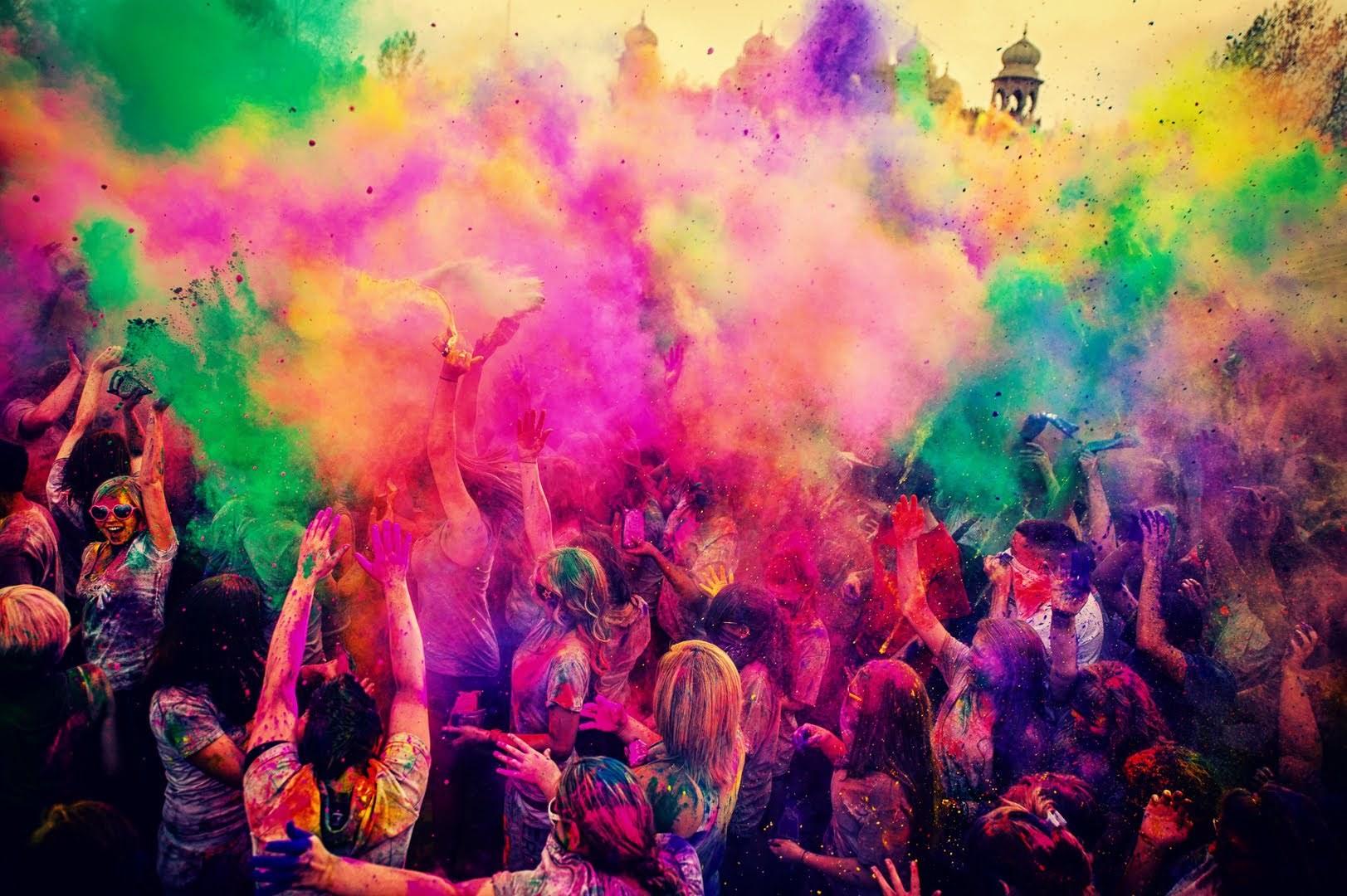 Festival barv v Indiji