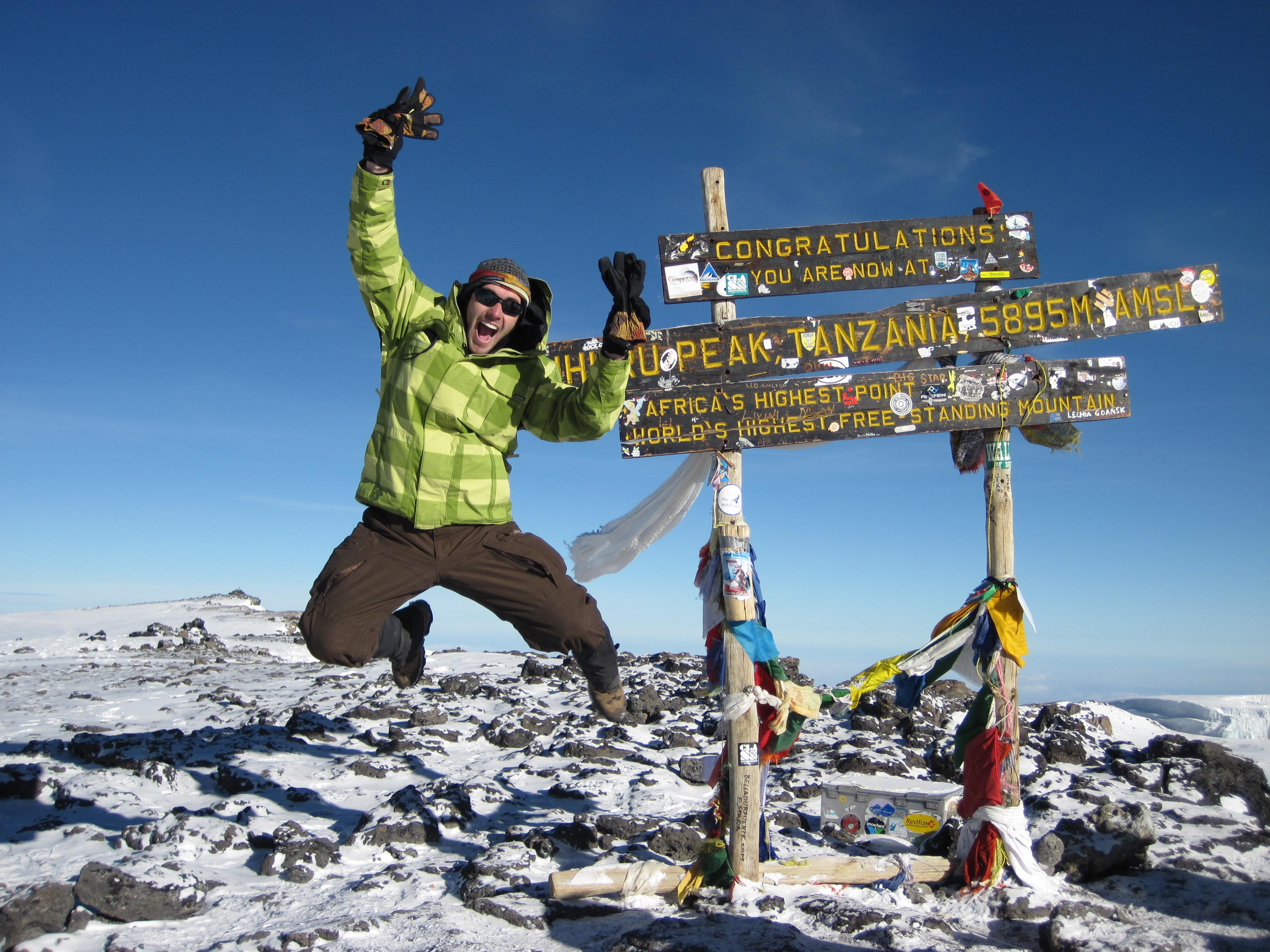 Vzpon na Mount Kilimanjaro za dobrodelne namene