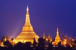 Pagoda Shwedagon, Rangoon, Burma