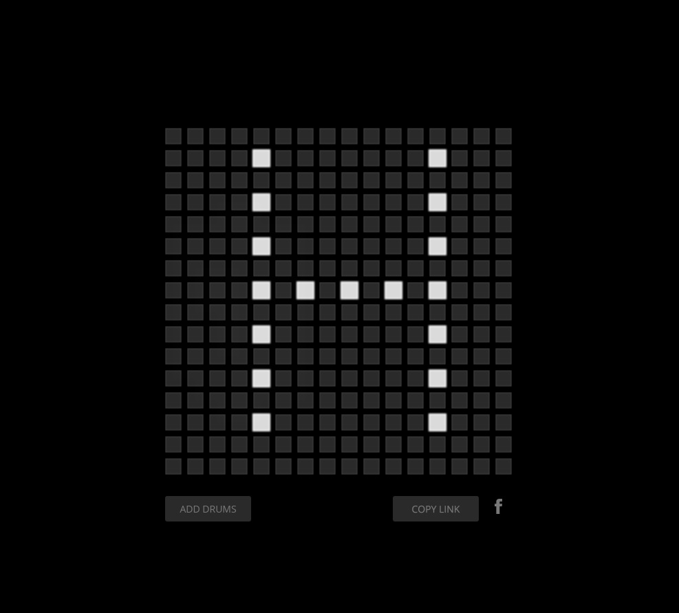 Spletna stran Audiotool.
