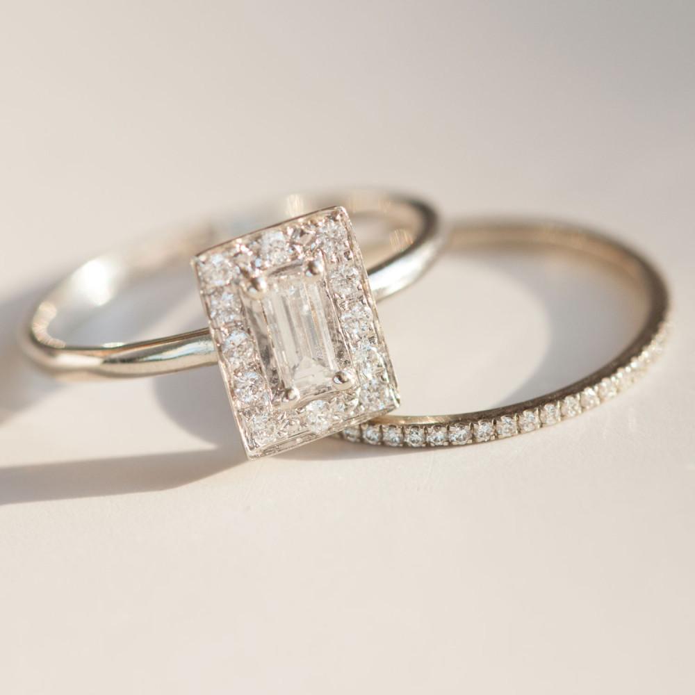 S kakšnim zaročnim prstanom se bomo zaročile letos? (na fotografiji Kiki Ring, Katie Diamon, okoli 2500 evrov)