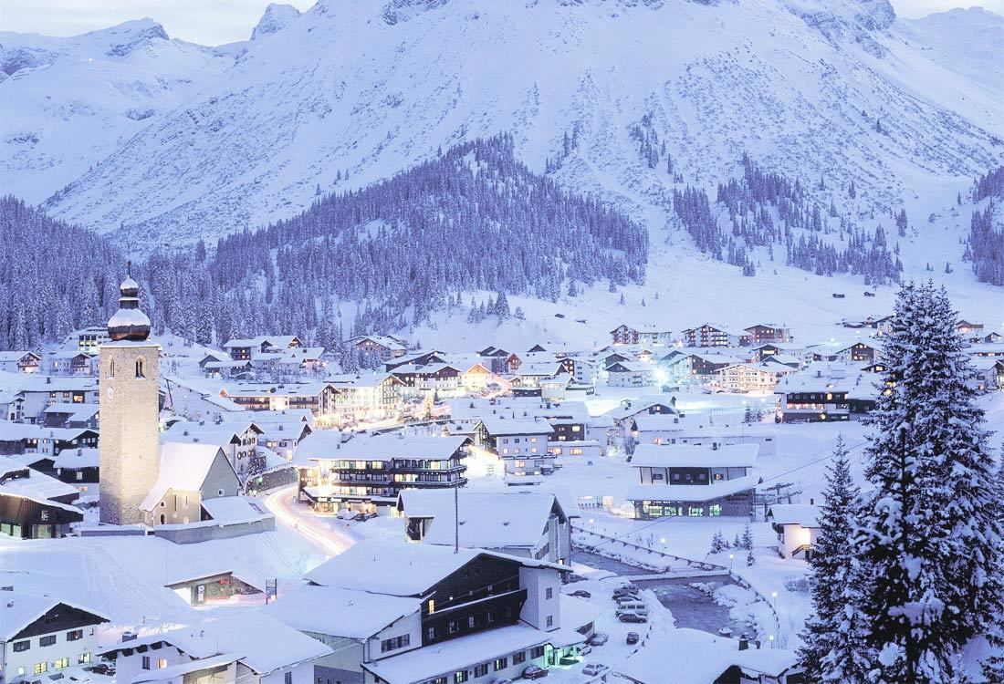 Lech Zürs am Arlberg, Avstrija