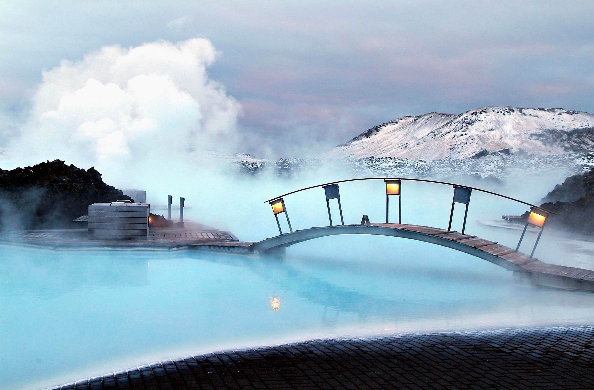 Modra laguna, Islandija