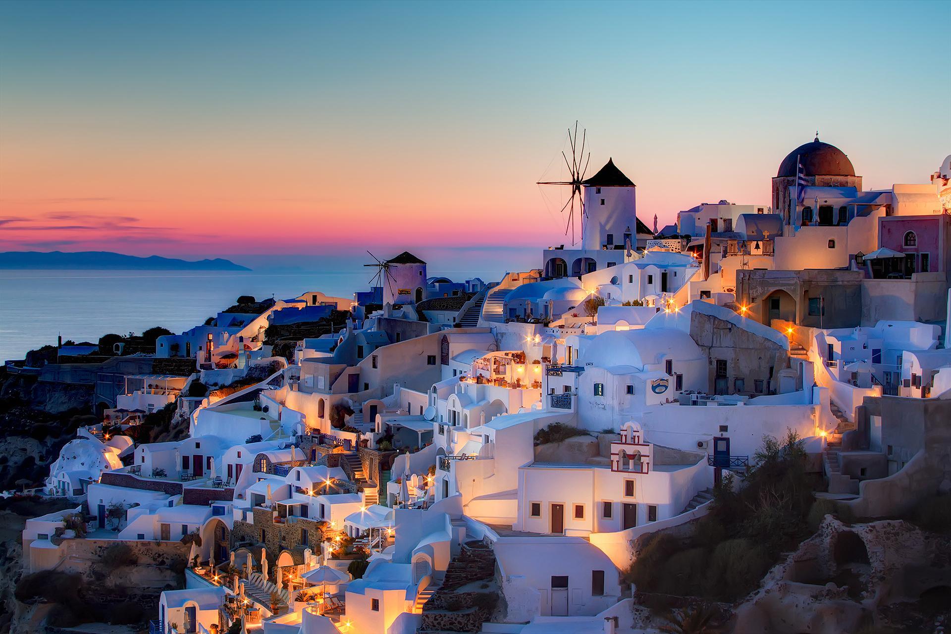 Santorini, Grčija