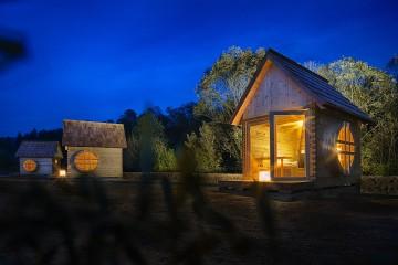 Luštne glamping hiške v Radljah ob Dravi