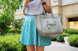 kako skrbeti za usnjeno torbico