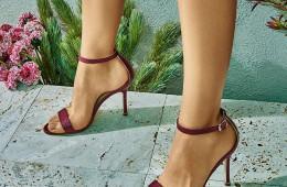 lak za nohte sandali