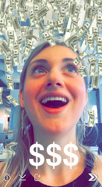 V Snapchatu lahko uporabimo več filtrov naenkrat.