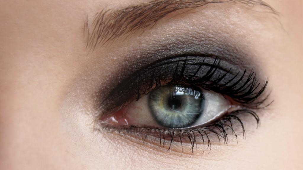 Optično povečane oči