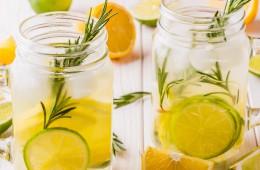 Limona, limeta, rožmarin in vanilja