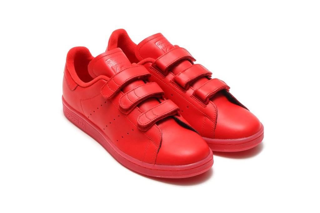 adidas Stan Smith CF v rdeči barvi