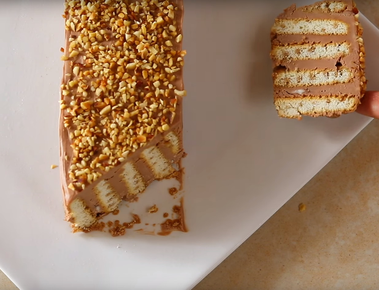 Slasten kolač z nutelo