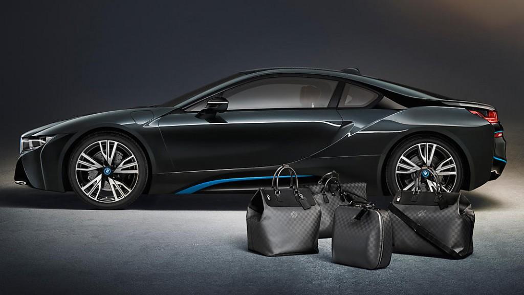 Potovalni set BMW i8 Louis Vuitton