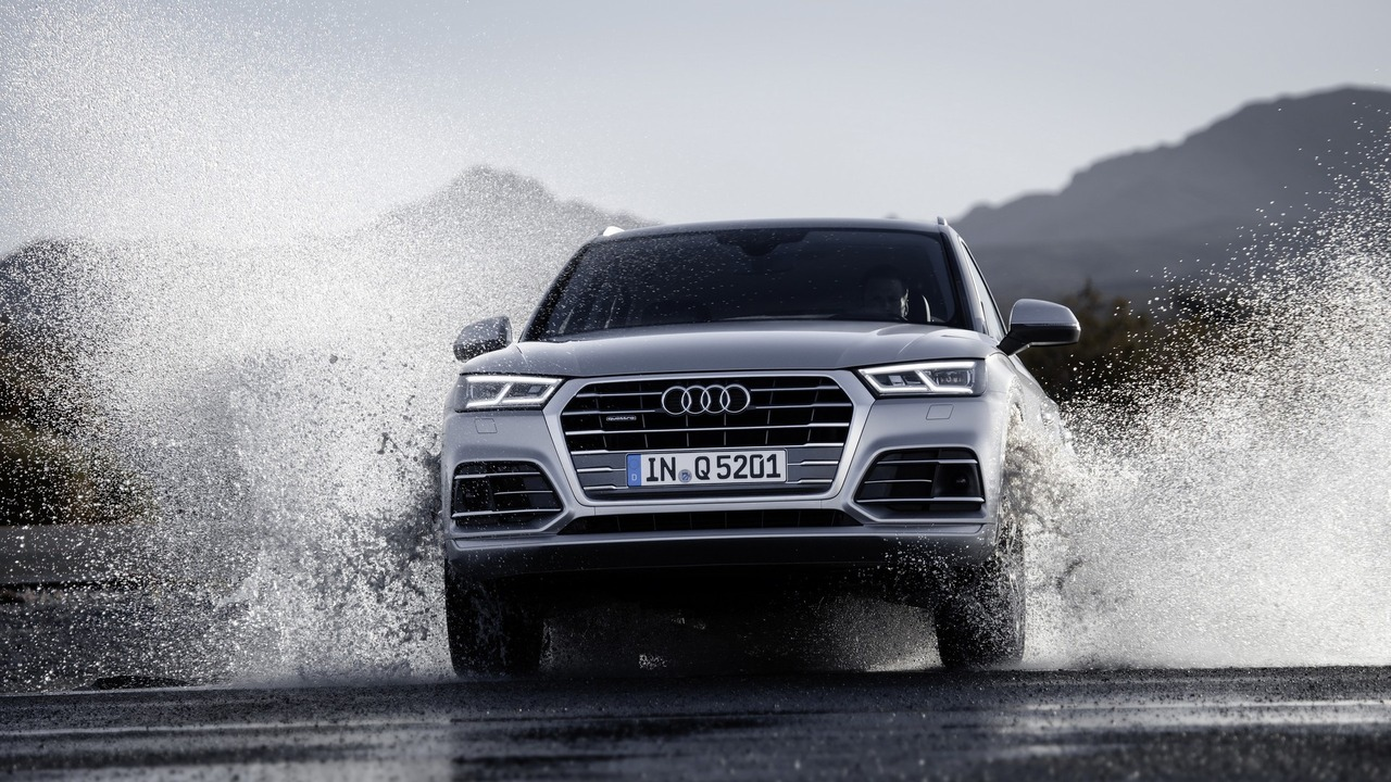 Novi Audi Q5 bo imel LED matrične luči.