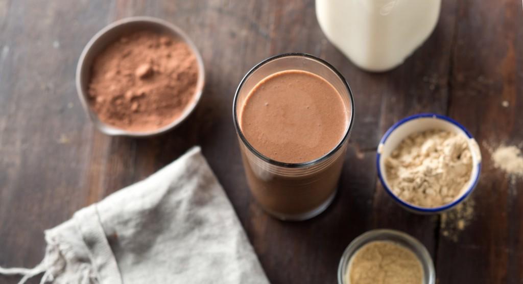 Mleko nadomestite s čokoladnim mlekom