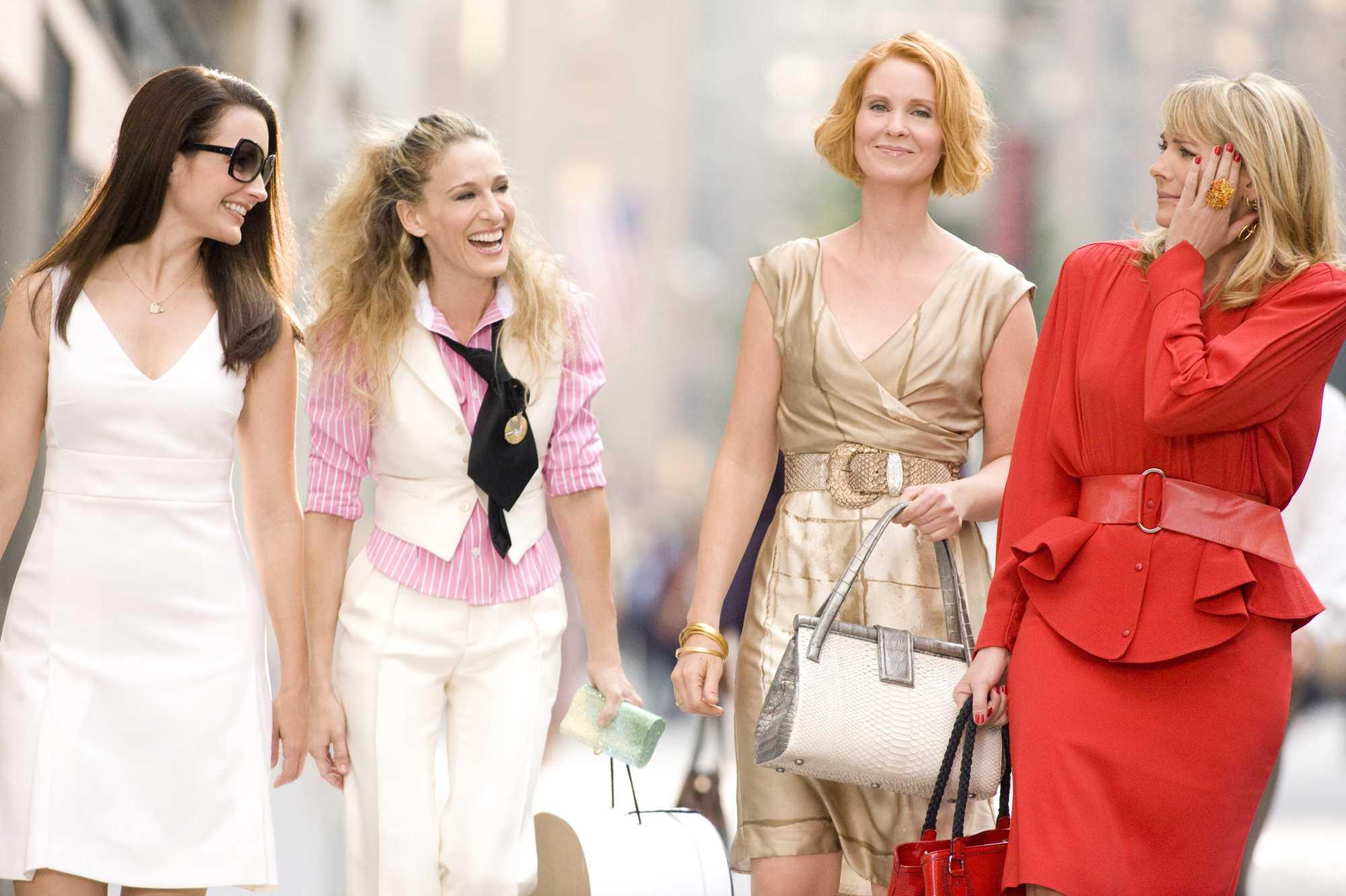 Film Seks v mestu je kot ogled modne revije.