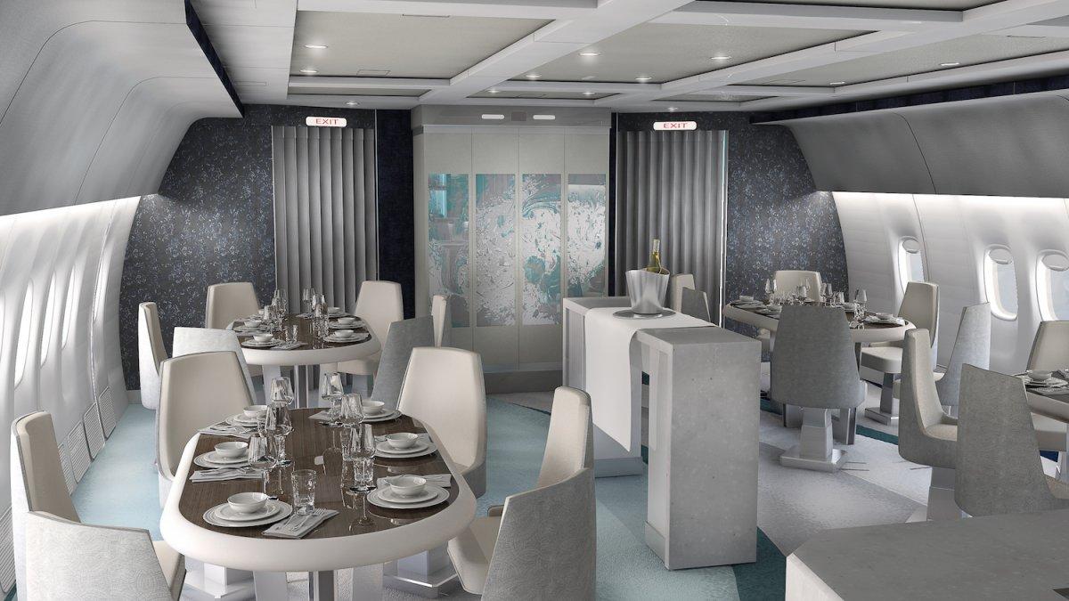 Najbolj luksuzno potniško letalo bo poskrbelo tudi za najbolj luksuzno postrežbo.