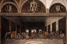 Leonardo da Vinci, Zadnja večerja