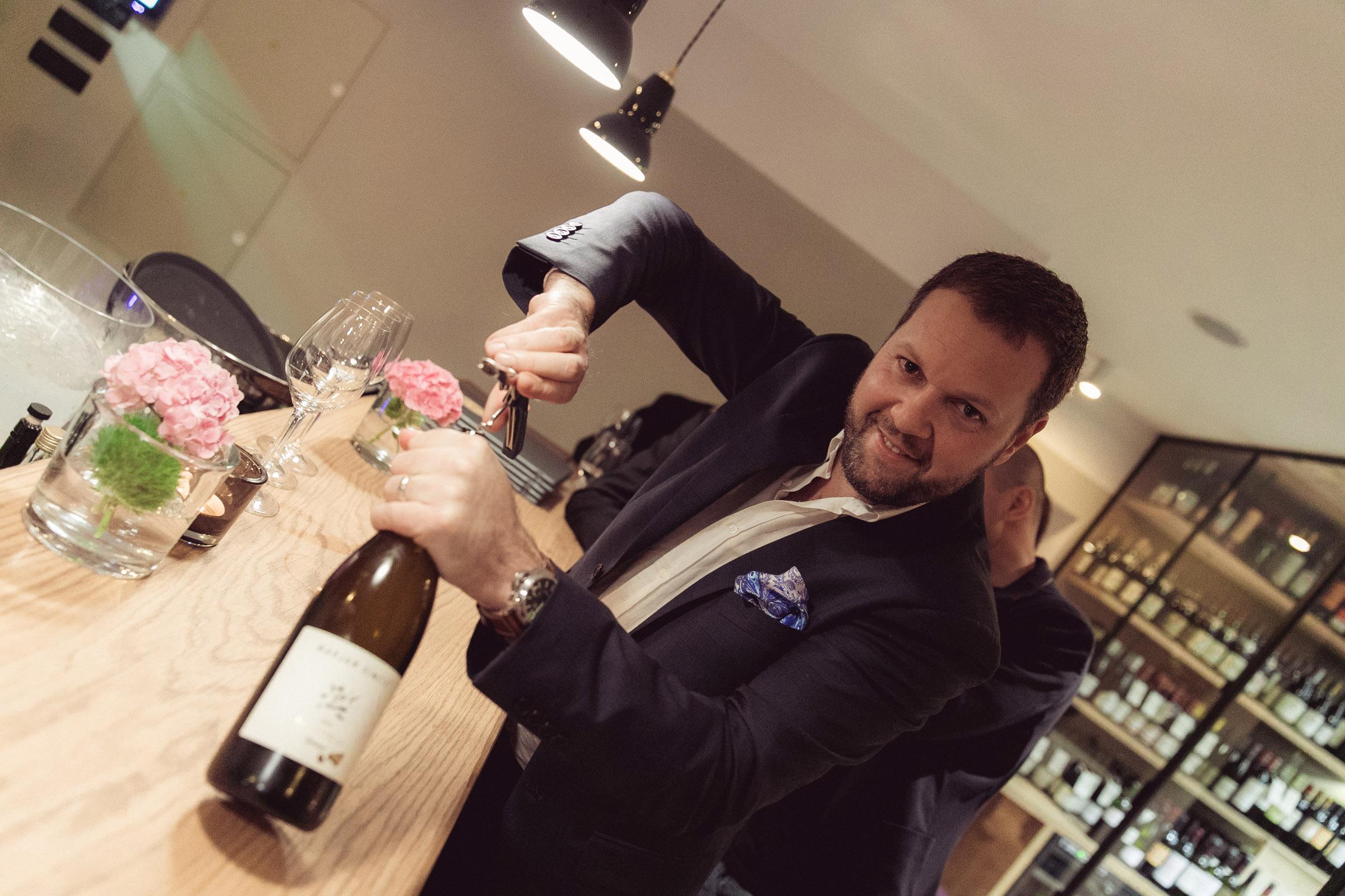 V gostilni in vinoteki Danilo bodo na svoj račun prišli tudi vsi ljubitelji vina. (Foto: Žiga Intihar)