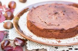 čokoladna kostanjeva torta