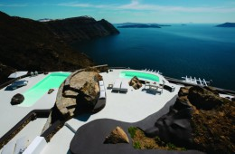 Najbolj romantičen butični hotel: Aenaon Villas, Santorini, Grčija