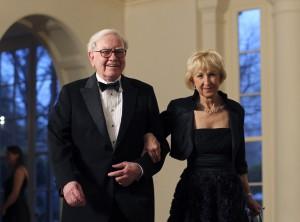 Warren Buffett in Astrid Menks