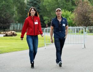 Jeff in MacKenzie Bezos