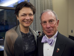 Michael Bloomberg in Diana Taylor